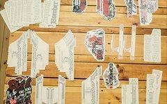 Marzocchi Decals / Sticker / Aufkleber Original