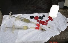 Avid werkstatt bleed kit