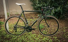 Surly Bikes Surly Pacer Stahl Rennrad RH58, schwarz