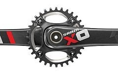 SRAM X01 DH 7-fach Kurbelgarnitur 165 mm incl. GXP Innenlager NEU & OVP