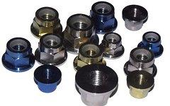 Tuning Pedals Titan Mutter (M6,M8,M10) mit Scheibe und Nylonsicherung, DIN 6961