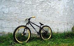"""Dartmoor Cody 26"""" matt schwarz"""