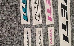 Yeti Verschiedene Sticker, farben Größen Decals