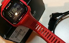 Polar RC3 GPS running red inkl. Brustgurt..wie neu