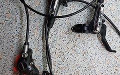 Shimano BR M785 Bremsensatz mit 180er Scheiben