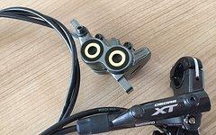 Shigura Magura MT 7 Sattel mit Shimano BR-M8000 Bremsgeber