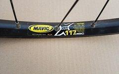 Mavic 117 Felge auf Shimano XT Nabe