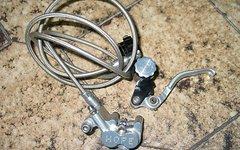 Hope Disc Scheibenbremse Vierkolbenbremse mit Stahlflexleitung