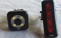 Knog Blinder Beleuchtungs-Set Vorderlicht, Rücklicht