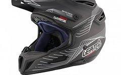 Leatt DBX 6.0 Carbon Fullface Helm Helmet - L - 59/60 cm - Schwarz Weiß Rot - UVP 499 € - Neu
