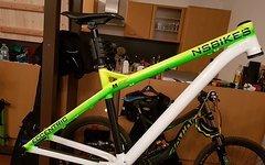 NS Bikes Eccentric Rahmen Gr. M inkl. Teile
