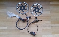 Shimano XT Scheibenbremsen Set