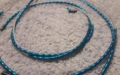 Jagwire Mountain Elite Link Schaltzughülle blau