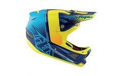 Troy Lee Designs D3 Helm - Starburst Yellow, Gr. M *neu!