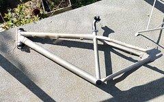 """Dirt Bike 26"""" Dirt Rahmen ink. Stütze, Klemme, Steuersatz und Innenlager"""