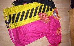 Troy Lee Designs GP AIR Jersey Gelb Pink Gr M
