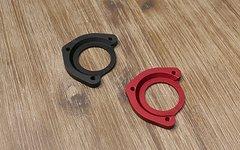 Iscg03 Adapter eloxiert / rot oder schwarz ISCG03