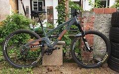 Orange Bikes Uk Stage 6 29er (L) Rahmen oder komplett