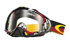 Oakley Mayhem PRO Legacy Red / Clear *NEU*