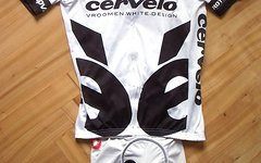 "Castelli Cervélo Test-Team-Set ""Tour de France 2009"", Hose/Bib-Shorts M, Trikot L"