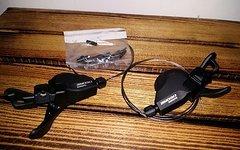 Shimano Deore SL-M610 2/3×10-fach Schalthebel Trigger Set Paar ISPEC *NEU*