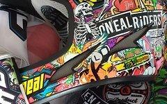 O'Neal Fullface Helm Shirt & Handschuh