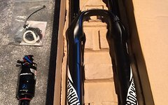 Rock Shox Pike RCT3 Solo Air 26 Modell 2016 Black/160mm /1.5 taper