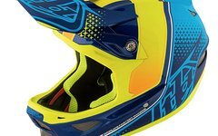 Troy Lee Designs D3 Starburst Yellow Fullface Helm XL *NEU*