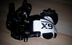 SRAM X9 Type 2.1 Schaltwerk 10-fach medium weiß