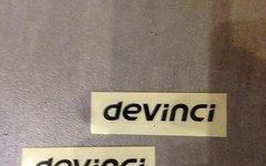Devinci Sticker/Decals 2x Schwarz
