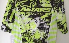 Alpinestars Gravity 3/4 Jersey Yellow Fluo Black XXS
