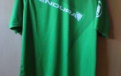 Endura Singletrack II Print Jersey Grün, Größe M ist wie L