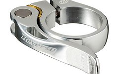 Reverse Components Sattelschelle LONG LIFE Ø 34.9mm Silver Seatclamp with brass washer- LONG LIFE clamp 46g