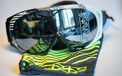 IXS Combat Goggle schwarz - neu