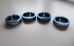 Reverse Components Griffklemmringe 4 Set blau