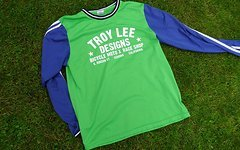 Troy Lee Designs Race shop jersey grün / blau