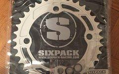 Sixpack Chainsaw Kettenblatt 36z Weiß