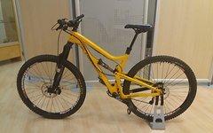 Santa Cruz Tallboy LTC Carbon M 2014 Rahmen und edle Parts
