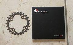 Carbon Ti Kettenblatt X-Ring MTB Full Titan LK64/24 Zähne