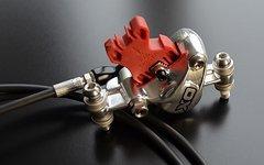 Avid X0 Scheibenbremse - silver - eine Seite 145mm Leitungslänge NR501