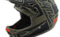 Troy Lee Designs D3 HELM Gr. L Fiberlite FACTORY TROOPER