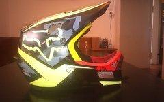 Fox Rampage Carbon gr. M + 100%racecraft Goggle