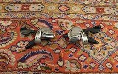 Shimano Paar Deore LX 3-Fach, 9-Fach Schalthebel