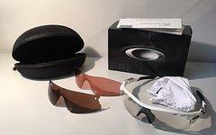 Oakley RADARLOCK PATH Brille weiß matt mit 3 Gläsern!