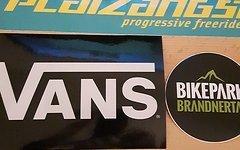 Aufkleber Groß Last,Vans,Evil,Platzangst,BikeparkBrandnertal