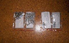DT Swiss Squorx Aluminium Nippel Pro Head inkl. PHR Washer 34 Stk.