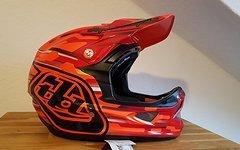 Troy Lee Designs D3 Helm Code Orange M *neu