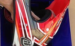 Troy Lee Designs D2 Proven Red Größe S Neu
