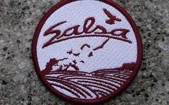 Salsa Aufnäher/Badge
