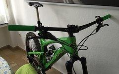 Avid X.0 Trail Carbon VR + HR 200/180mm